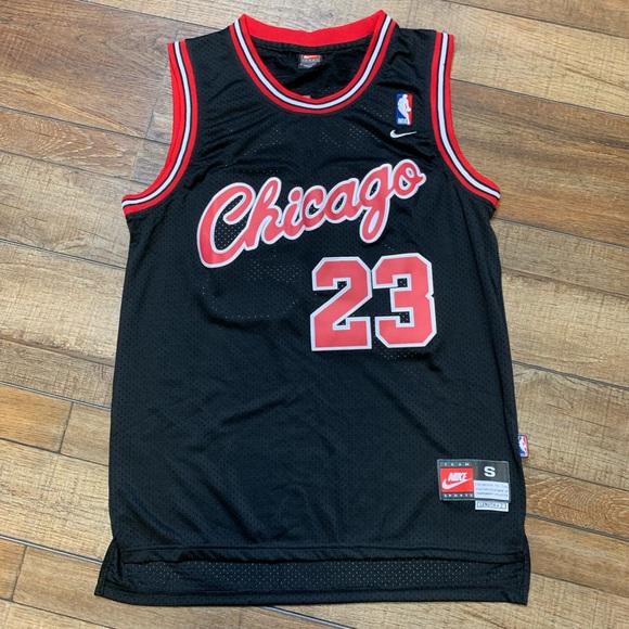 a329e2f59c8 Nike Shirts   Michael Jordan Retro Script Chicago Bulls Jersey ...